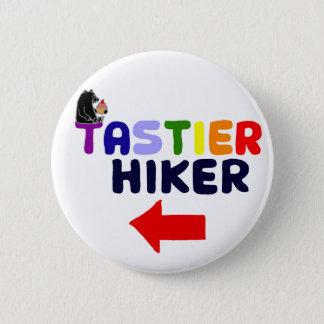 Funny Tastier Hiker Cartoon 2 Inch Round Button