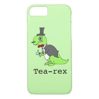 Funny 'Tea-rex' Dinosaur iPhone 7 Case