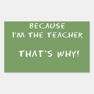 Funny Teac ago Sticker