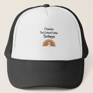 Funny Teacher Thanksgiving Men and womens Trucker Hat