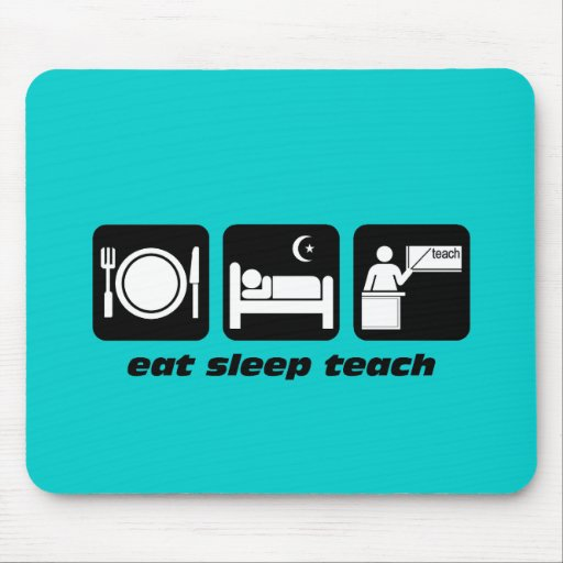 Funny teachers mousepad