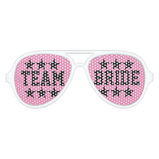 Funny Team bride bachelorette party shades