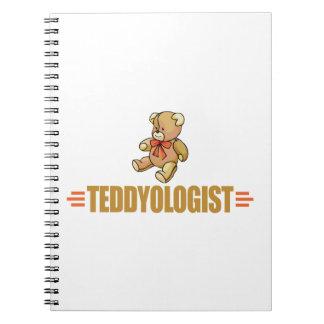 Funny Teddy Bear Spiral Notebook