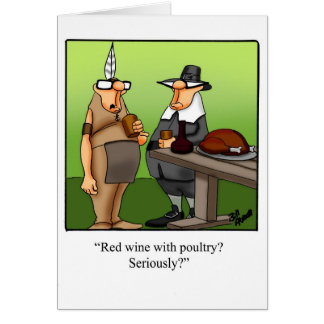 Funny Thanksgiving Humor Greeting Card Spectickles