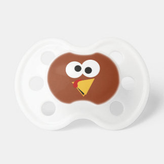 Funny Thanksgiving Turkey Face Pacifier