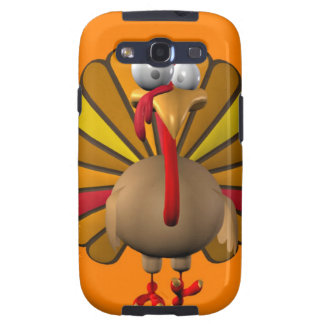 Funny Thanksgiving Turkey Galaxy S3 Cover