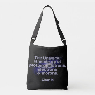 "Funny ""The Universe"" custom name bags"