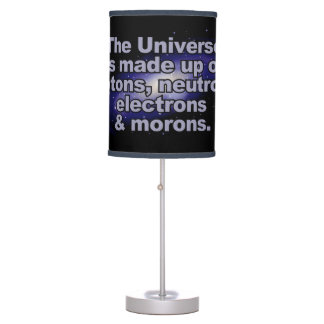 "Funny ""The Universe"" lamps / shades"