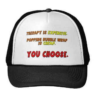 Funny Therapy T-shirts Gifts Mesh Hats