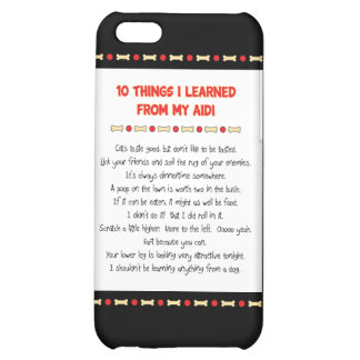 Funny Things I Learned From My Aidi iPhone 5C Case