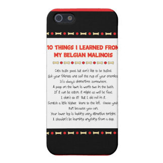 Funny Things I Learned From My Belgian Malinois iPhone 5 Covers