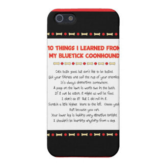 Funny Things I Learned From My Bluetick Coonhound Case For The iPhone 5