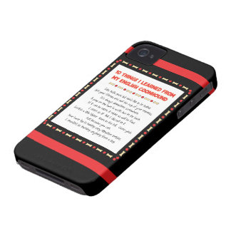 Funny Things I Learned From My English Coonhound Case-Mate iPhone 4 Cases