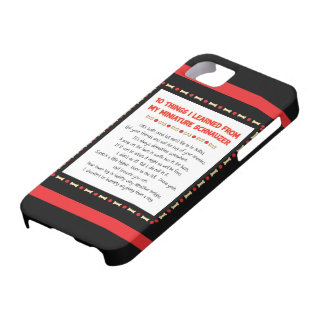 Funny Things I Learned From My Miniature Schnauzer iPhone 5 Cases