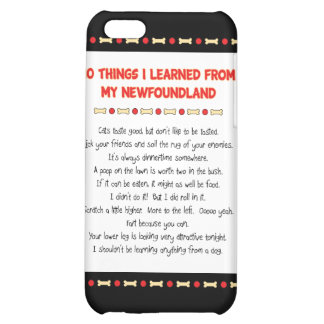 Funny Things I Learned From My Newfoundland Cover For iPhone 5C