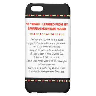 Funny Things Learned From Bavarian Mountain Hound Case For iPhone 5C