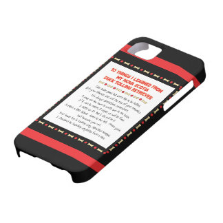 Funny Things Learned From Nova Scotia Duck Toller iPhone 5 Cover