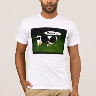 Funny Thinking Cow T-Shirt
