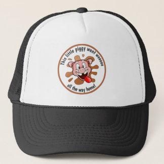 Funny This Little Piggy Went Weeee Trucker Hat