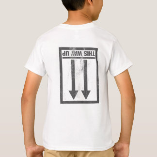 Funny this way up sign T-Shirt