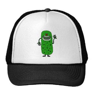 Funny Tickle Monster Cartoon Trucker Hat