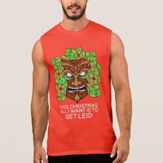Funny Tiki Mask custom text shirts & jackets