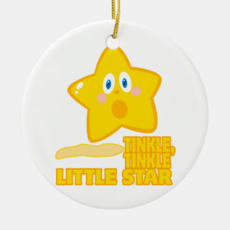 funny tinkle tinkle little star ornament