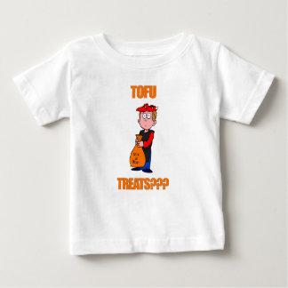 Funny Tofu Treats Halloween Baby T-Shirt
