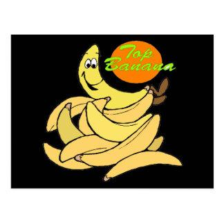 Funny Top Banana T-shirts Gifts Postcard