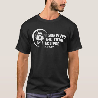 Funny Total Eclipse I Survived August 21st 2017 T-Shirt