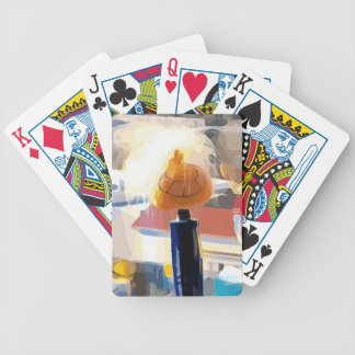 Funny Toy Bicycle Playing Cards