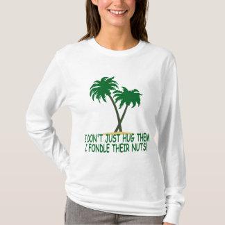 Funny tree hugger women's T-Shirt