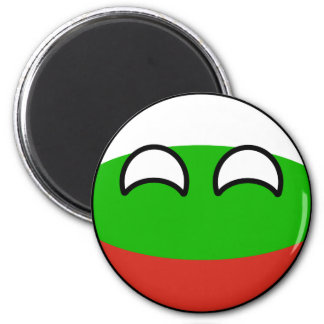 Funny Trending Geeky Bulgaria Countryball Magnet