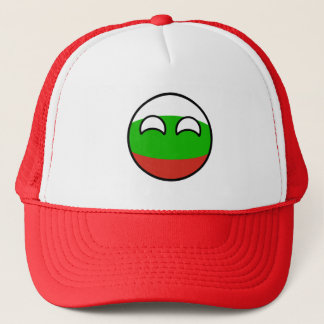 Funny Trending Geeky Bulgaria Countryball Trucker Hat