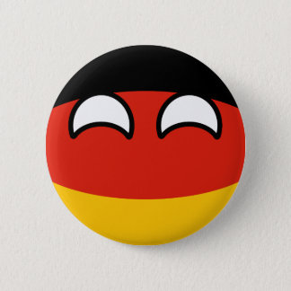 Funny Trending Geeky Germany Countryball 2 Inch Round Button