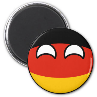 Funny Trending Geeky Germany Countryball Magnet