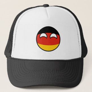 Funny Trending Geeky Germany Countryball Trucker Hat