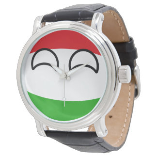 Funny Trending Geeky Hungary Countryball Watch