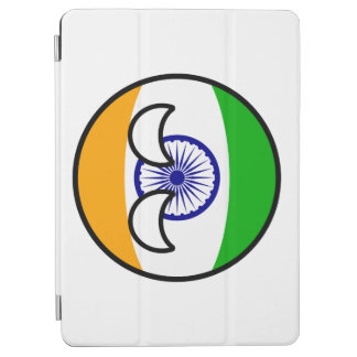 Funny Trending Geeky India Countryball iPad Air Cover