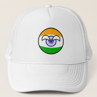 Funny Trending Geeky India Countryball Trucker Hat
