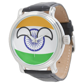 Funny Trending Geeky India Countryball Watch