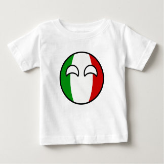 Funny Trending Geeky Italy Countryball Baby T-Shirt