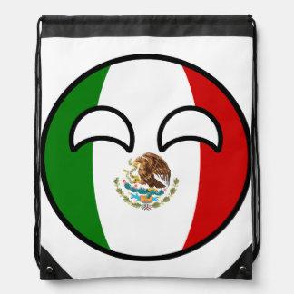 Funny Trending Geeky Mexico Countryball Drawstring Bag