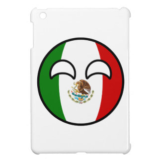 Funny Trending Geeky Mexico Countryball iPad Mini Cover
