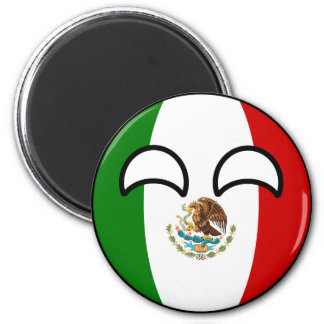 Funny Trending Geeky Mexico Countryball Magnet
