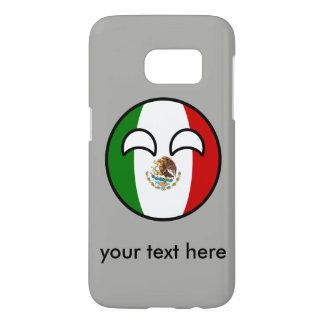 Funny Trending Geeky Mexico Countryball Samsung Galaxy S7 Case