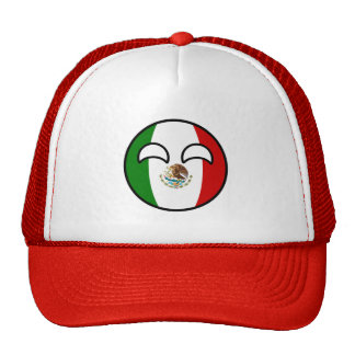 Funny Trending Geeky Mexico Countryball Trucker Hat