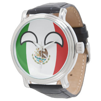 Funny Trending Geeky Mexico Countryball Watch
