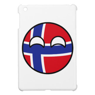 Funny Trending Geeky Norway Countryball Cover For The iPad Mini