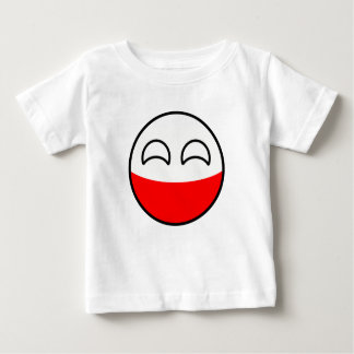 Funny Trending Geeky Poland Countryball Baby T-Shirt